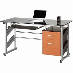 bureau d ordinateur With bureau d angle avec surmeuble 2 meuble bureau et ordinateur pas cher but fr