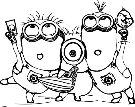 vampire minion coloring pages   print