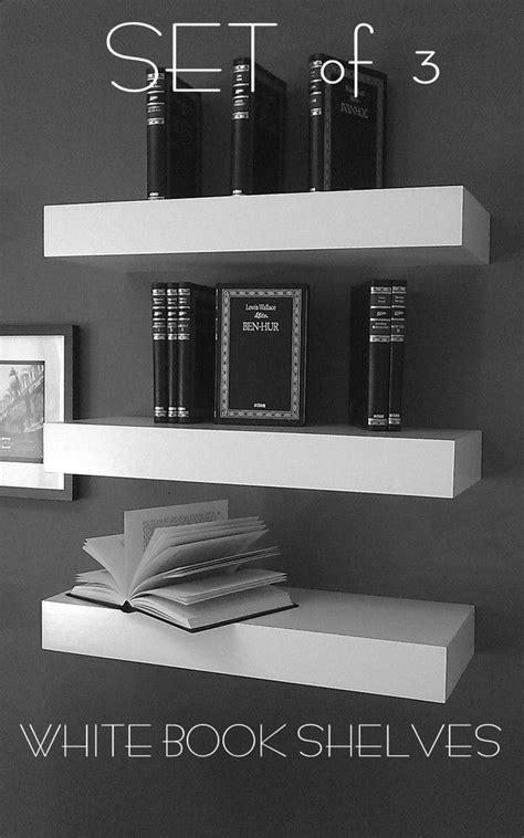 floating wall shelves 48 floating white lacquer shelves single shelf by