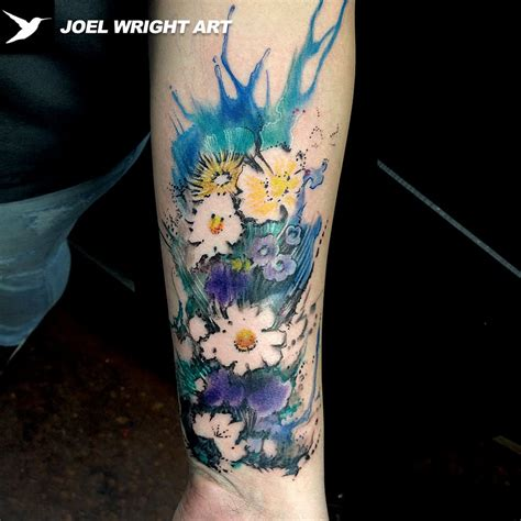 11+ Watercolor Tattoos On Forearm