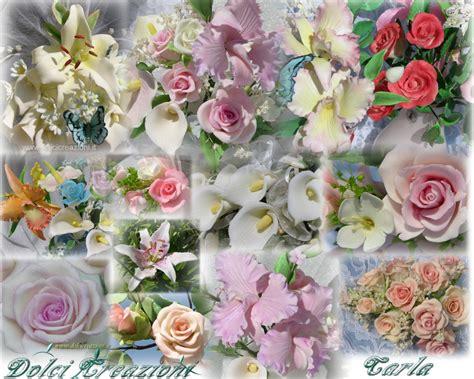 decorazioni torte pasta di zucchero fiori dolci creazioni di carla torte decorate fiori in pasta
