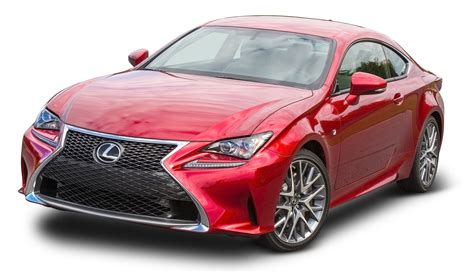 lexus cars red lexus rc 350 red car png image pngpix