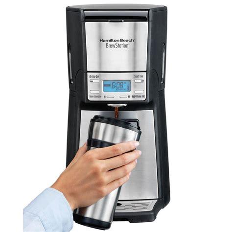 Shop for hamilton beach coffee pot online at target. Hamilton Beach (48465) Coffee Maker with 12 Cup Capacity & Internal Storage Coffee Pot ...