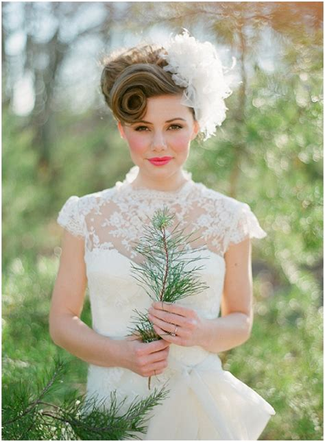 Vintage Wedding Hairstyles Ideas
