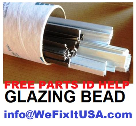 aluminum window glazing bead snap  glazing beading bead parts biltbest window parts