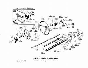 55 Chevy Steering Column