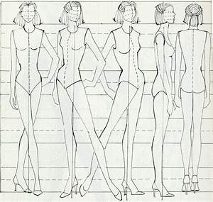 personal project research for fashion figures With textiles body templates