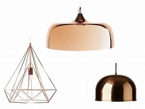 Lampadaire Cuivre Rosé : luminaire cuivre rose site luminaire design triloc ~ Teatrodelosmanantiales.com Idées de Décoration