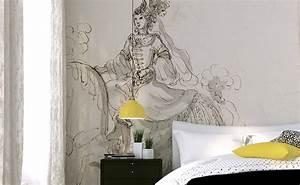 bed head wallpaper papiers de paris With tete de lit decorative