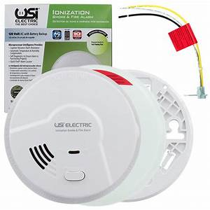 Usi Hardwired Ionization Smoke And Fire Alarm