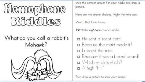 homophone riddles grammar jokes words and