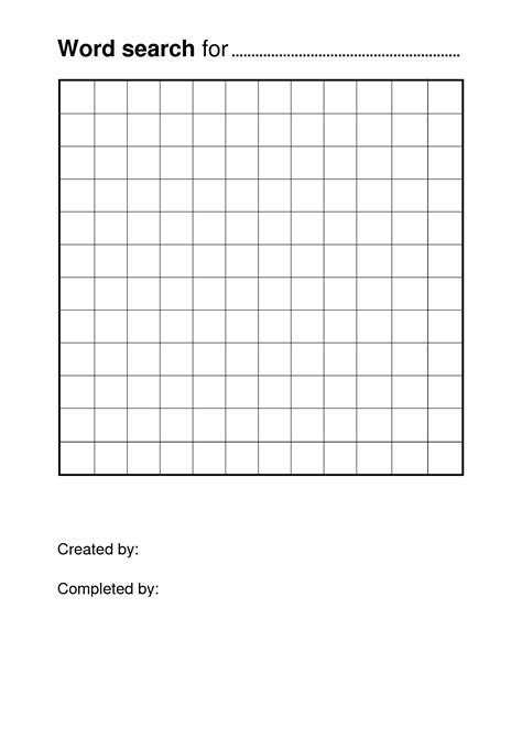 images  blank word search puzzles printable