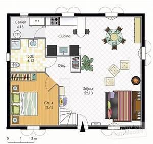 maison bbc detail du plan de maison bbc faire With faire un plan de maison 12 maison en bois le plan nature de trecobat