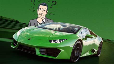 Want A Lamborghini? Read This First