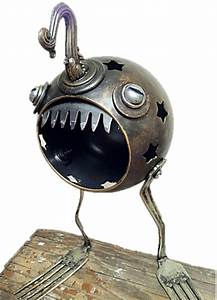 Found Object Sculptures • Recyclart
