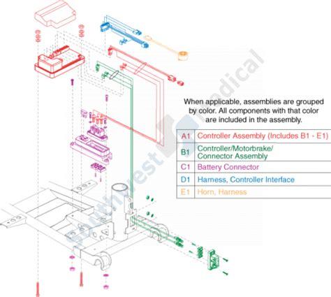 sc sc elite traveller  replacement parts  drive  drive controller electronics
