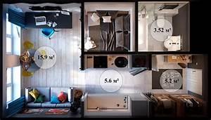 Come Arredare un Bilocale di 30 50 mq: Ecco 3 Idee Innovative MondoDesign it