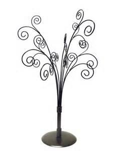 tabletop metal tree ornament card holder display stand ebay