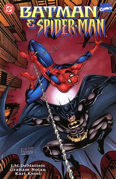 batman  spider man vol   dc  fandom