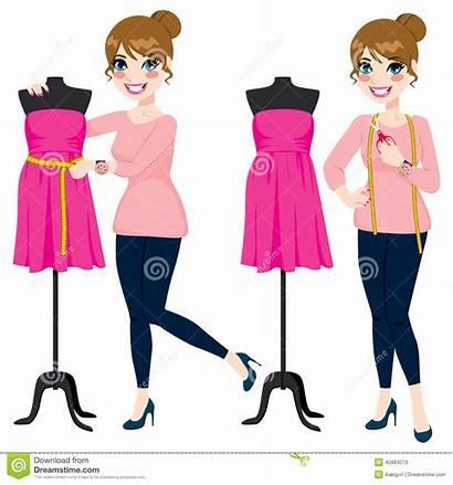 Designer Woman Mannequin Clipart Vector Clip Illustration