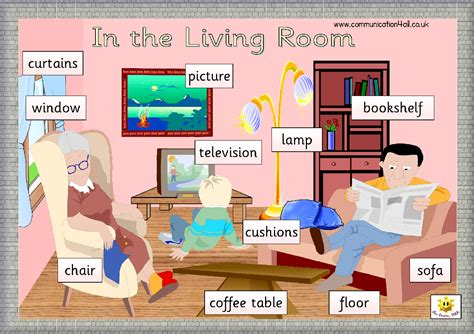 gambar ruang tamu  bahasa inggris rumah zee