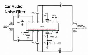 Car Audio Noise Filter Circuit