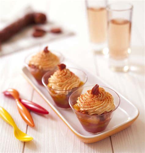 recette de cuisine été verrines d été poivrons et chantilly de chorizo les