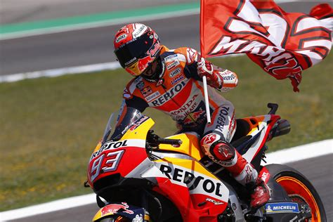 Scroll down to read the latest news from the. MotoGP: Marquez wins crash-filled Spanish GP - BikesRepublic