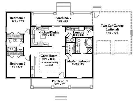 story ranch house plans country house plan  floor   house plans