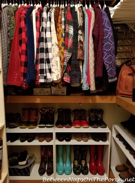 A Closet Update Boot & Shoe Storage Solution