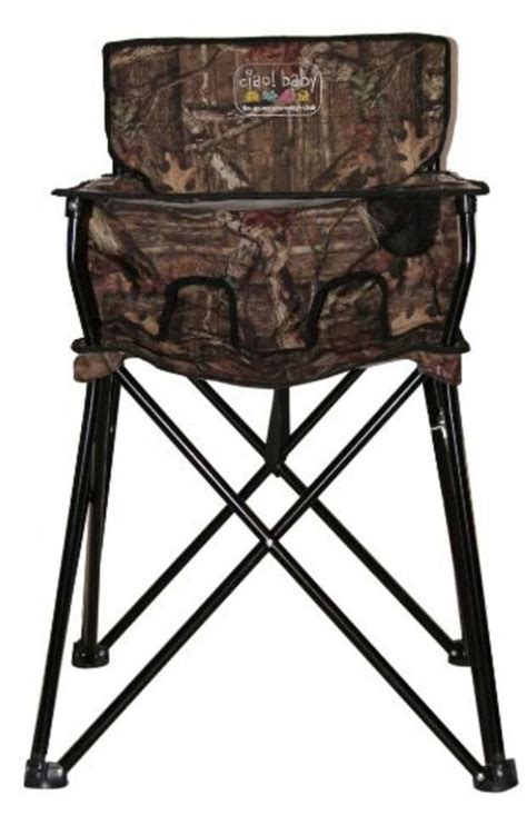 Ciao Portable High Chair Camo by Ciao Baby Camo Ciao Baby Portable Highchair Hb2001 High