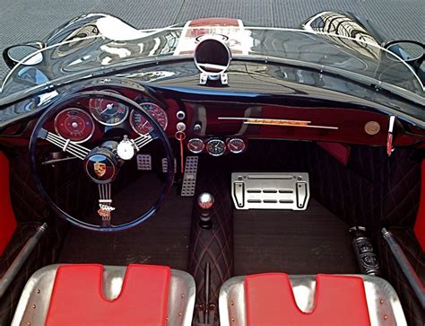 vintage porsche interior dutch porsche 356 speedster replica interior wow cool