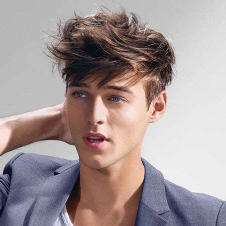 15 messy hairstyles for men mens hairstyles 2018