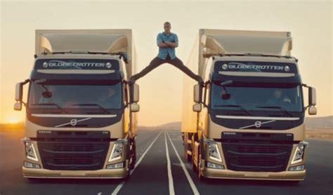 volvo truck ad epic jean claude van damme stars in volvo trucks ad