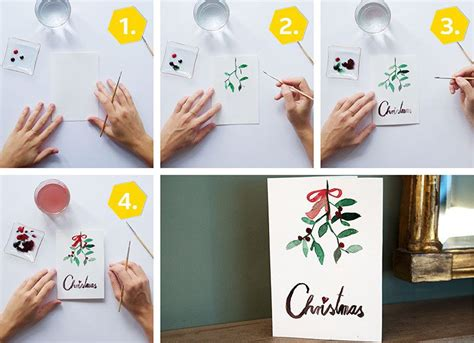 weihnachtskarten basteln kreative ideen anleitungen
