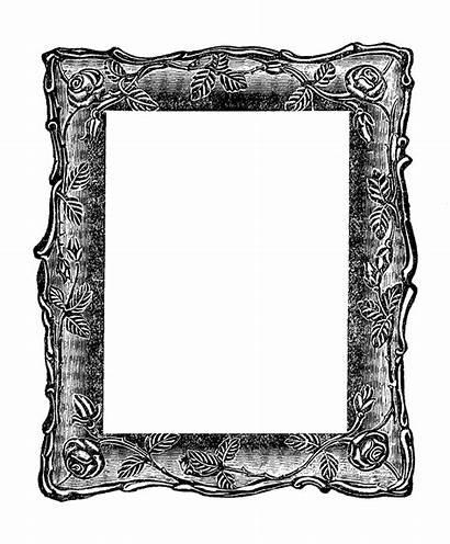 Frame Clipart Clip Square Antique Decorative Border