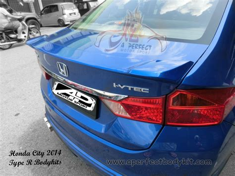 honda city  modulo rear spoiler honda city  johor