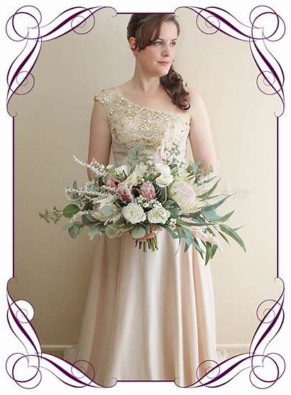 Isobel Bridal Bouquet Artificial Silk Flowers