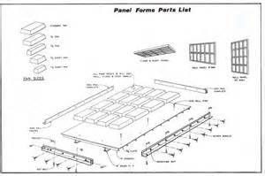 diy precast concrete wall panel form plans