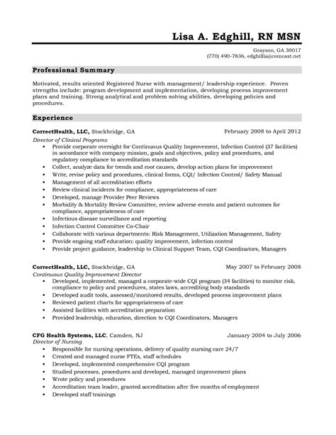 resume objective retail management sle cna resume