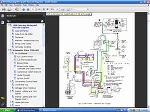 Cd 68 Mustang Colorized Wiring  Vacuum Diagram