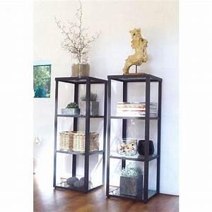 Vitrine Metall Glas : wmg glasvitrine vitrine eisen metall regal glasboden glasplatte valentin top ebay ~ Whattoseeinmadrid.com Haus und Dekorationen