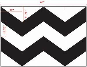 diy chevron curtain tutorial with template With how to make a chevron template