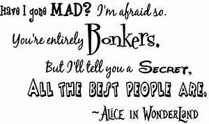 Alice in Wonderland Quotes. QuotesGram