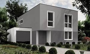 Fassade Selber Streichen : eine farbliche stimmige fassade in grau mehr dazu www ~ Lizthompson.info Haus und Dekorationen