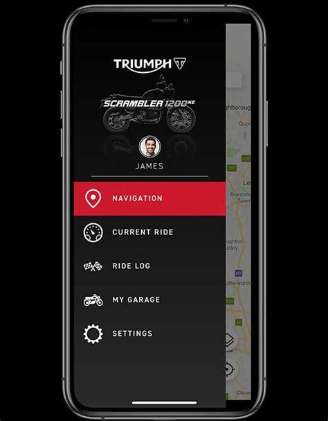 triumph connectivity system ride