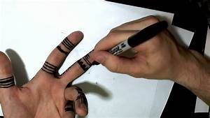 How to Draw on Your Hand - YouTube