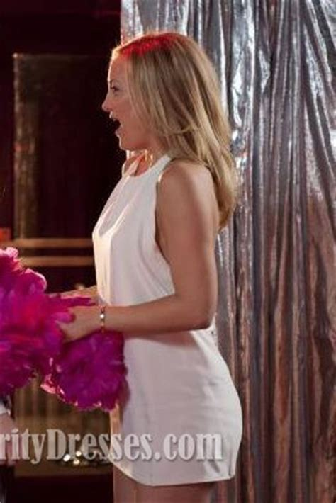 kate hudson mini white halter dress   borrowed