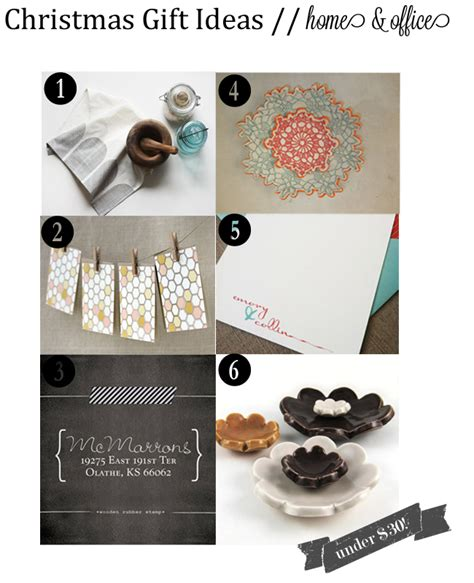 holiday gift ideas home office the small things blog