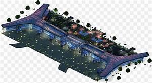 International Airport Megalopolis City Building  Png